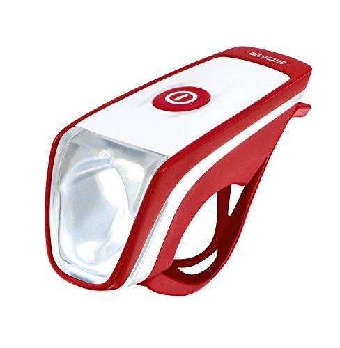Sigma Led-Frontleuchte Siggi Rot-Weiß