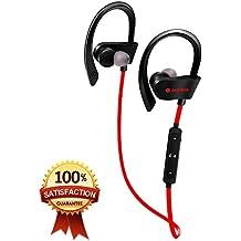 Damitech Auriculares Bluetooth Inalámbricos de calidad inalámbrica Bluetooth (Red)