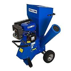 DENQBAR Gartenhäcksler/Gartenschredder mit 11 kW (15 PS) Benzinmotor