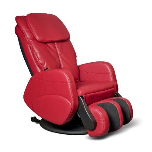 Alpha Techno Massagesessel, Rot