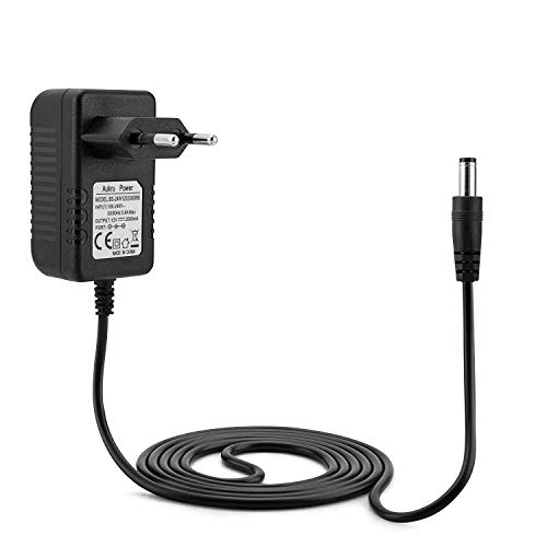 12 V EU AC DC Adapter Adapter Ladegerät Stromversorgung Netzkabel Kabel für 12V 1.5A 1500mA Mains AC-DC Switching Regulated Power Supply 5.5mm x 2.1mm / 2.5 12v Ac Uhr