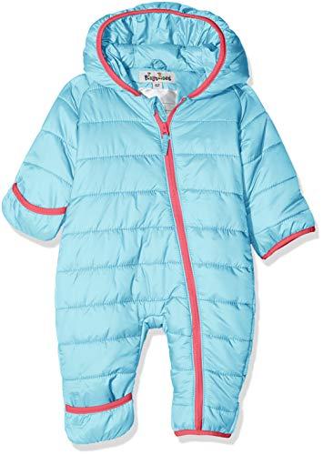 Playshoes Unisex Baby Schneeanzug Stepp-Overall, (Türkis 15), 68