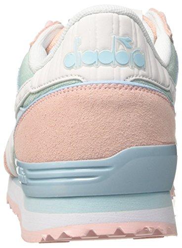 Diadora Titan Ii W, Sneaker a Collo Basso Donna Rosa (Rosa Cristallo/Azzurro Piuma)
