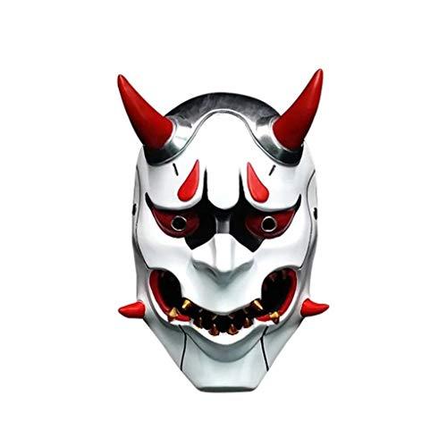 Halloween Horror Kostüm, böse Maske Cosplay Requisiten Geschenke Unisex - Erwachsene, Single Size