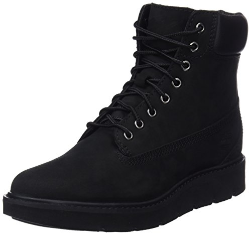 Timberland Damen Kenniston 6-inch Lace Up (Wide fit) Stiefeletten, Schwarz (Black Nubuck), 37.5 EU