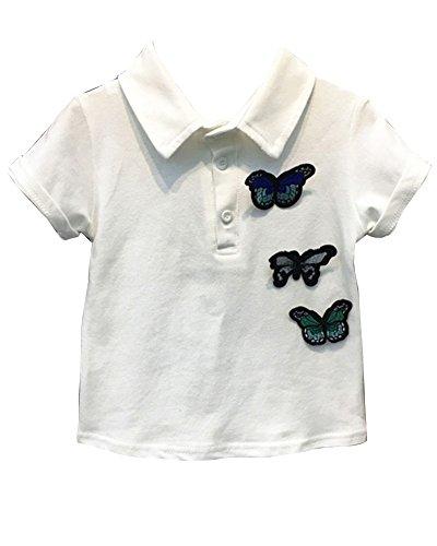 Polo Shirt À Manches Courtes T Shirt Haut Pour Garçons Enfant LaoZanA