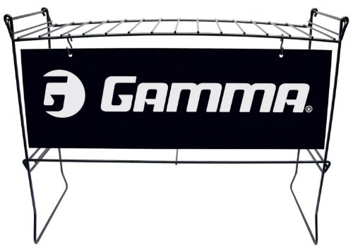 Gamma Schläger Ständer, Schwarz
