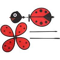 3D Biene Windmühlen Spinner Rad Garten Rasen Festival Dekor Kinder Outdoor