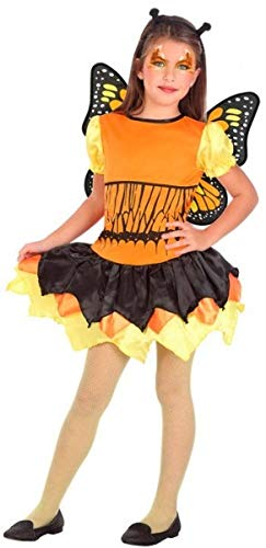 ange Schmetterling Mini Biest Insekten + Flügel Buch Tag Karneval Halloween Kostüm Outfit 3-12 Jahre ()