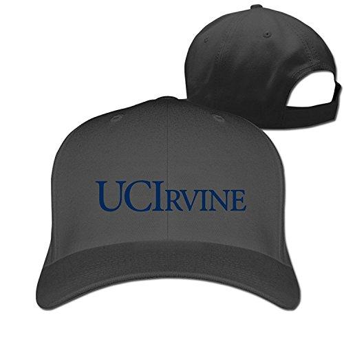 Fitty area Cool University Of California Logo Irvine Baseball Cap - Adjustable Hat - Black