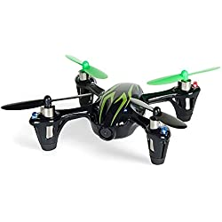 Hubsan X4 H107C 2.4G 4CH RC Quadcopter with HD 2 MP Camera RTF Noir/Vert