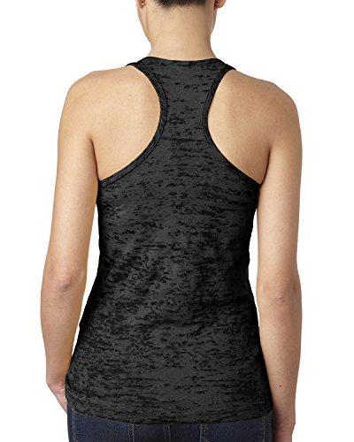 Next Level - T-shirt de sport - Femme Noir - Noir