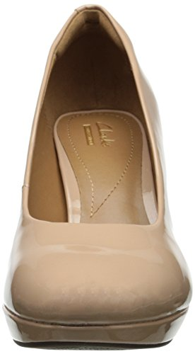Pompe Clarks Brier Dolly Dress Nude Synthetic