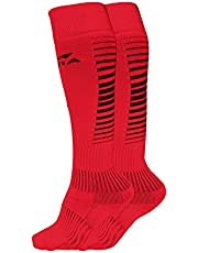 Nivia Encounter Soccer Socks - Medium (Red)