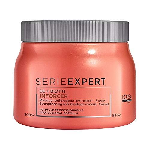 L\'Oréal Professionnel Serie Expert Inforcer Maske, Stärkende Maske gegen Haarbruch, 1er Pack (1 x 500 ml)