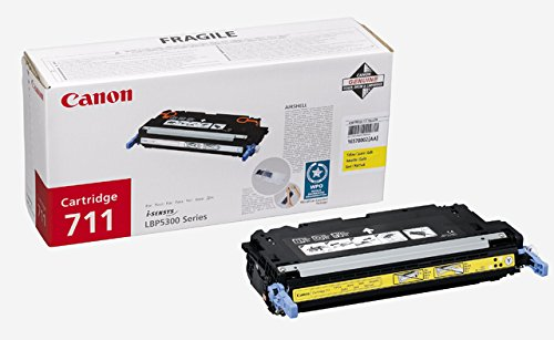 Can 711 Toner Yellow for LBP 5300 (6.000pages)