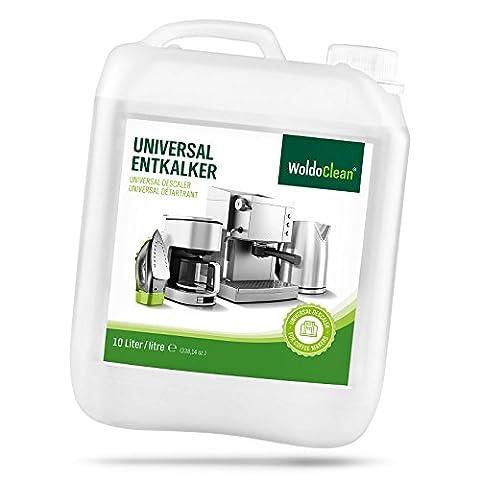 WoldoClean Entkalker für Kaffeevollautomaten 10 Liter Kanister für Kaffemaschinen Kaffeevollautomat