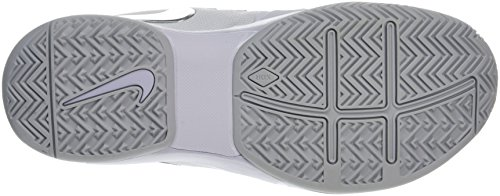 Nike 5 Chaussures Blanc de Tennis Zoom Argent Blanc Femme Métallique Vapor 9 rtIwxtq1