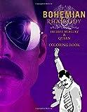 Bohemian Rhapsody Freddie Mercury & Queen Coloring Book