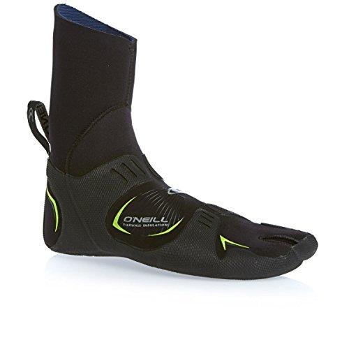 O'Neill Mutant con alluce separato stivali, 3 mm nero - nero