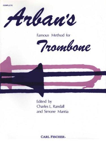 Arban's Famous Method for Trombone by Joseph Jean Baptiste Laurent Arban (1936-01-02)