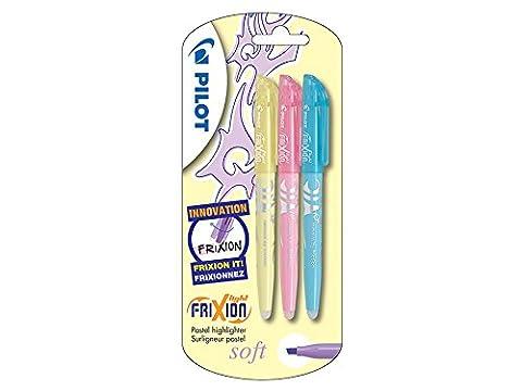 Pilot Frixion Light Surligneur Triple Yellow/Pink/Blue