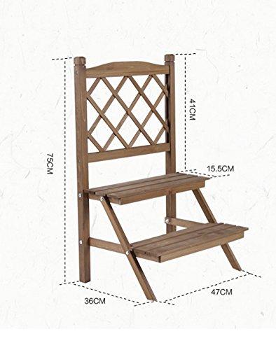 hza-dos-bastidores-de-escalera-sistema-conservante-de-la-madera-sencilla-pequena-flor-calidad-de-la-