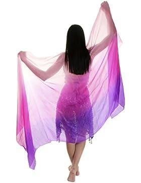 Velo de seda para baile de danza
