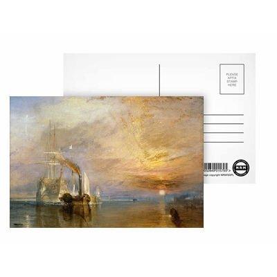 The Fighting Temeraire, 1839 (oil on canvas).. - Postkarten (8er-Packung) - 15,2x10,2 cm - Beste Qualität - Standardgröße