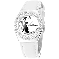 Watch Movement Ball 87 Bird Shaped with Swarovski Elements by So Charm®