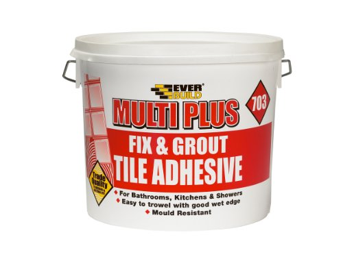 Everbuild Fix and Grout FIX05 703 Fliesenkleber, 5 l