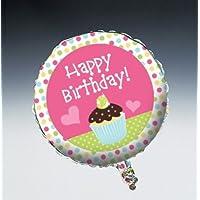 Palloncino Buon Compleanno con Muffin Ø cm. 45