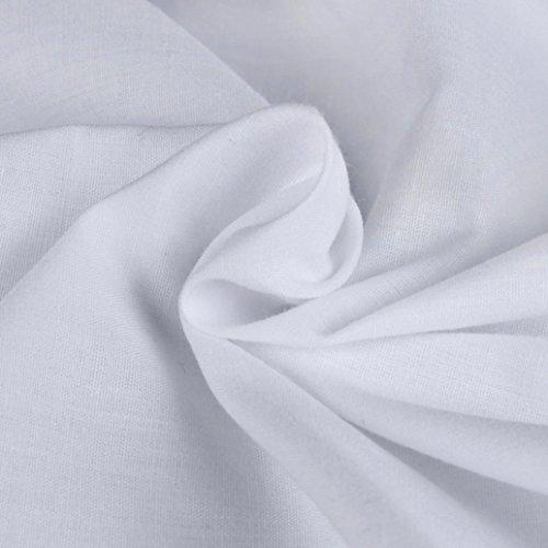 Sonnena Herren Fashion Luxus lange Sleeve Casual Slim Fit Stilvolle Kleid Shirts weiß