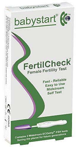 Babystart FertilCheck weiblich Fruchtbarkeit Test Furt Stehenbleiben