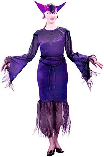 Unbekannt Aptafêtes Kostüm mortissia mit Tüll (Kostüm Halloween Sorciere Femme)
