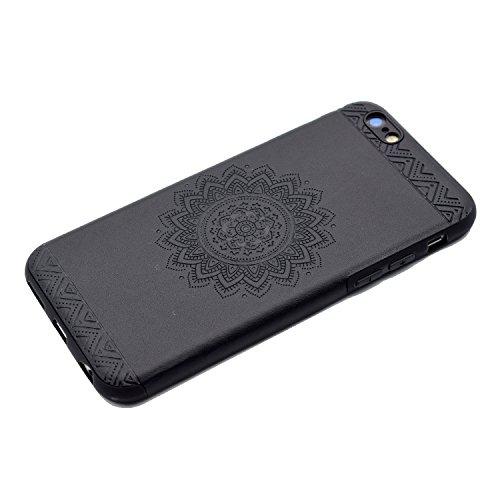 HLZDH Etui Coque TPU Slim Bumper pour Apple iPhone 6 plus/6S plus Souple Housse de Protection Flexible Soft Case Cas Couverture Anti Choc Haute Qualité Mince Légère Transparente Silicone Cover pour iP image-4