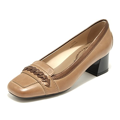 32526 decollete TODS OY MASCH scarpa donna shoes women Marrone chiaro