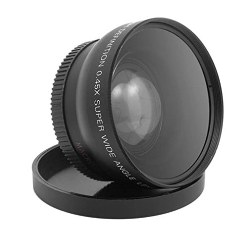 FairytaleMM 58MM 0.45 x Wide Angle Macro Lens Suitable for 58M Camera Lens