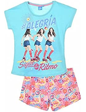 Soy Luna Mädchen Schlafanzug