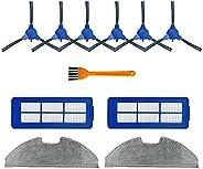 مصفاة ممسحة القماش الجانبية فرشاة ل يوفي روبوفاك G10 هايبرد مكنسة كهربائية أجزاء الملحقات