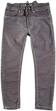 Carrera Jeans - Jogger Jeans per Bambino, Tinta Unita, Interno Felpato