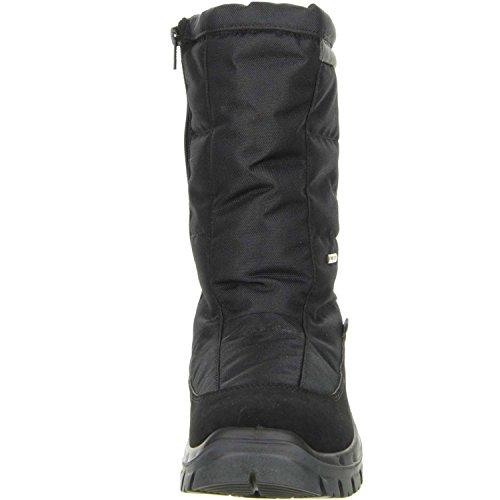 Vista Mens Winter Boots Snowboots Artigli Di Ghiaccio Nero Nero