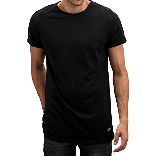 Sixth June Herren Oberteile / T-Shirt Long Schwarz