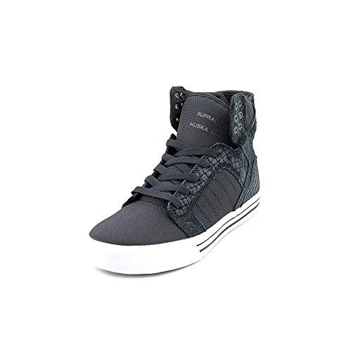 Supra SKYTOP  Unisex-Erwachsene Hohe Sneakers Black-White