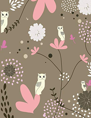 2019 Daily Planner: Full sized page a day planner with a whimsical owl themed cover to keep you smiling every day of 2019. Whoo knew getting your ... be so easy? (Adorable Owls Planner, Band 5) (Kostüm Business Girl School)