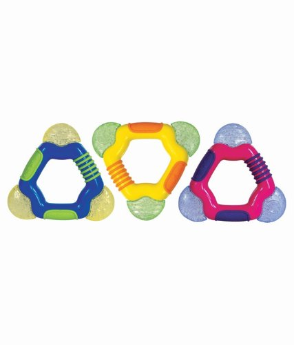 Nuby Coolbite Triangle Teether