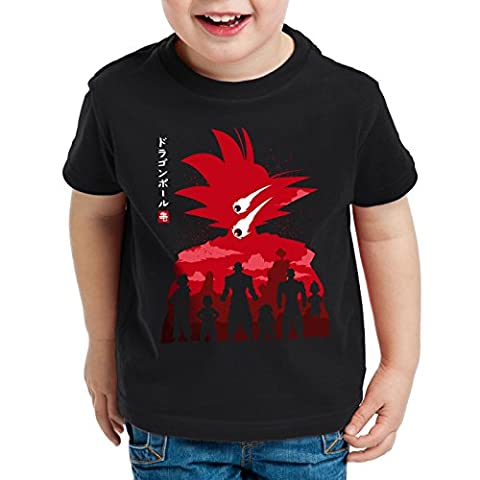 Dragon Meteore Noir - style3 Saiyan Météore T-Shirt pour enfants roshi