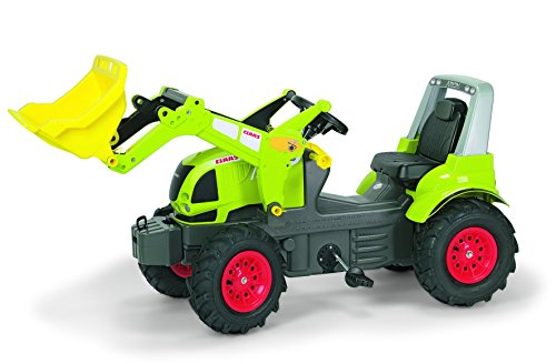 Claas Trettraktor rolly toys 710249 - rollyFarmtrac CLAAS Arion 640 mit rollyTrac Lader und Luftbereifung, Motorhaube zum Öffnen