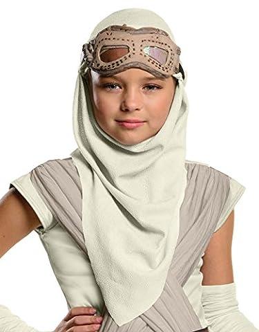 La Force réveille Accessoire pour Déguisement pour Enfant, Star Wars Rey capuche Masque