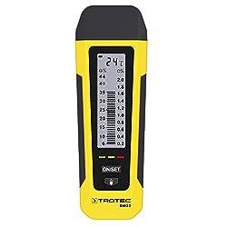 TROTEC BM22 Feuchteindikator Feuchtemessgerät Holzfeuchtemessgerät Materialfeuchtemessgerät Prüfer für Feuchtemessung